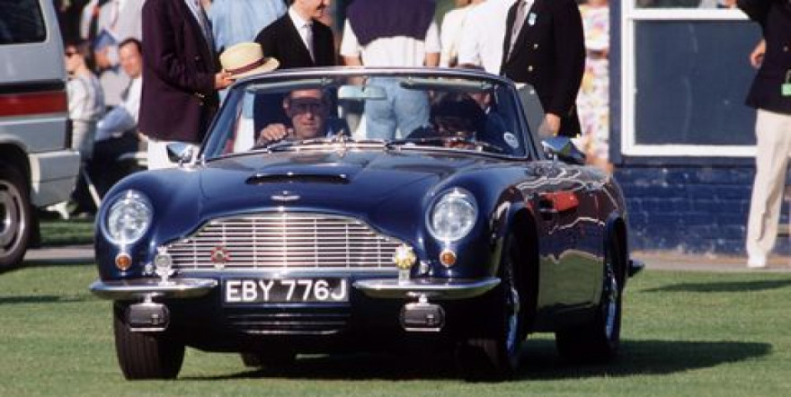 Cheese and wine to fuel a DB6? What is the world coming to…