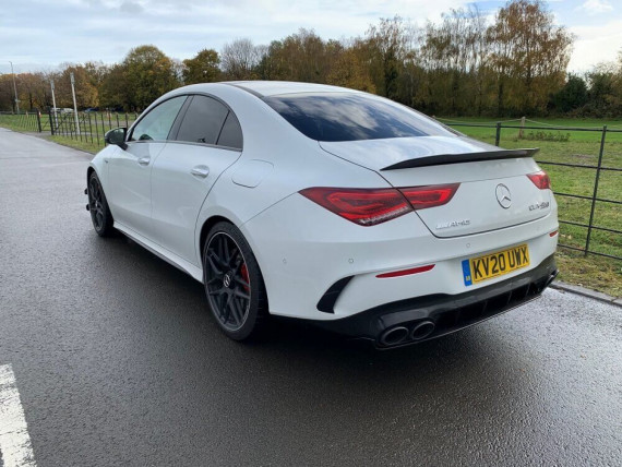 Mercedes-Benz AMG CLA 45 S 4MATIC Plus Coupe